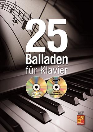 25 Balladen für Klavier