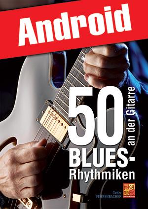 50 Blues-Rhythmiken an der Gitarre (Android)