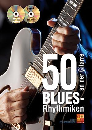 50 Blues-Rhythmiken an der Gitarre