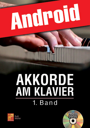 Akkorde am Klavier - 1. Band (Android)