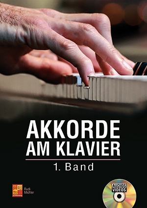 Akkorde am Klavier - 1. Band