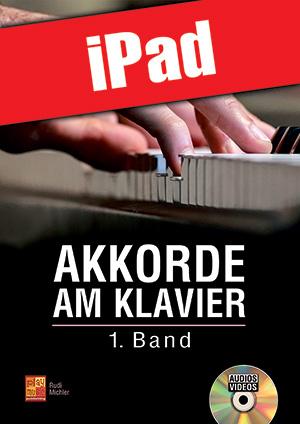 Akkorde am Klavier - 1. Band (iPad)
