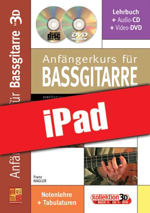 Anfängerkurs für Bassgitarre in 3D (iPad)