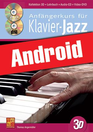 Anfängerkurs für Klavier-Jazz in 3D (Android)