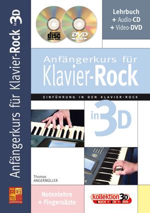 Anfängerkurs für Klavier-Rock in 3D
