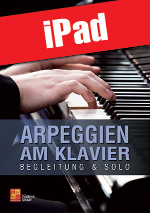 Arpeggien am Klavier (iPad)