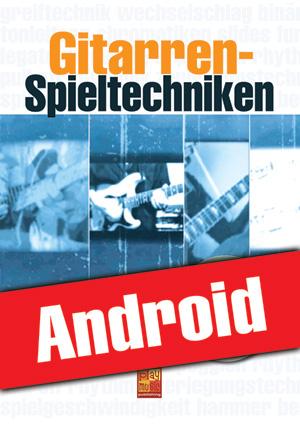 Gitarren-Spieltechniken (Android)