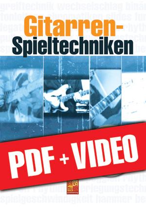 Gitarren-Spieltechniken (pdf + videos)