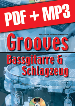 Grooves Bassgitarre & Schlagzeug (pdf + mp3)