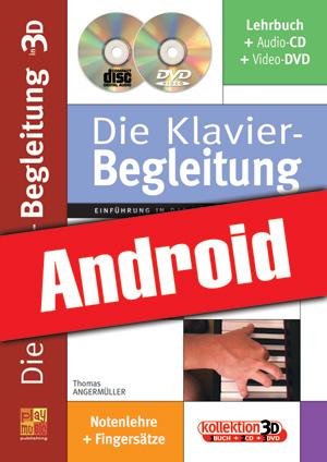 Die Klavier-Begleitung in 3D (Android)