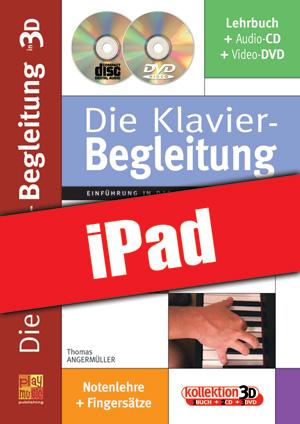 Die Klavier-Begleitung in 3D (iPad)