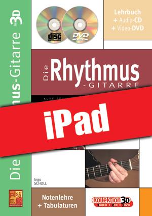 Die Rhythmus-Gitarre in 3D (iPad)