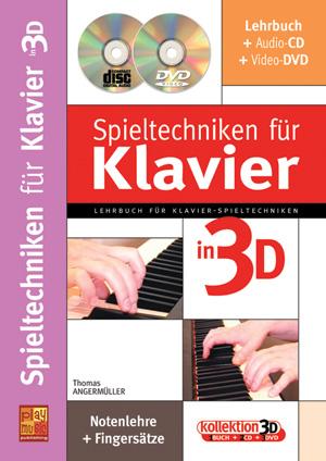 Spieltechniken für Klavier in 3D