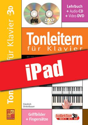 Tonleitern für Klavier in 3D (iPad)