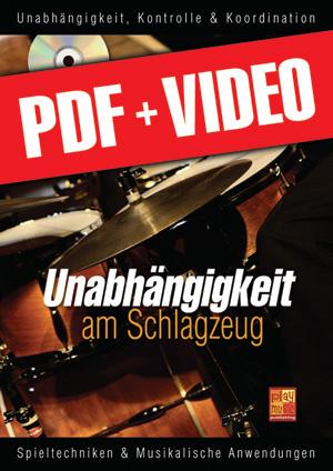 Unabhängigkeit am Schlagzeug (pdf + videos)