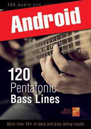 120 Pentatonic Bass Lines (Android)