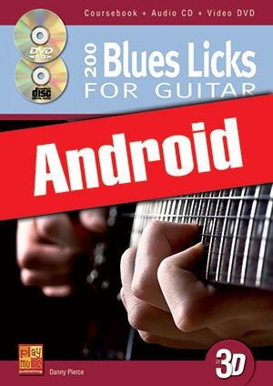 200 Blues Licks for Guitar in 3D (Android)