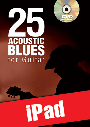25 Acoustic Blues for Guitar (iPad)