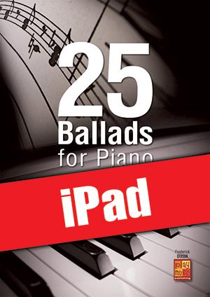 25 Ballads for Piano (iPad)