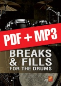 Breaks & Fills for the Drums (pdf + mp3)