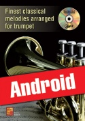 Finest classical melodies arranged for trumpet (Android)