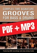 Complex Time Signature Grooves for Bass & Drums (pdf + mp3)