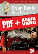 Drum Beats & Breaks in 3D (pdf + mp3 + videos)