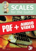 Scales for the Guitar in 3D (pdf + mp3 + videos)