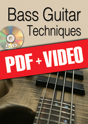 Bass Guitar Techniques (pdf + videos)