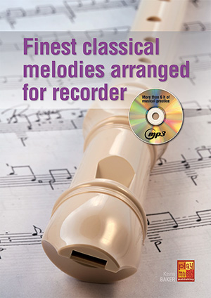 Finest classical melodies arranged for recorder