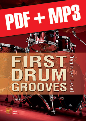 First Drum Grooves (pdf + mp3)