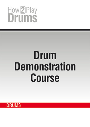 Free Drum Demonstration Course