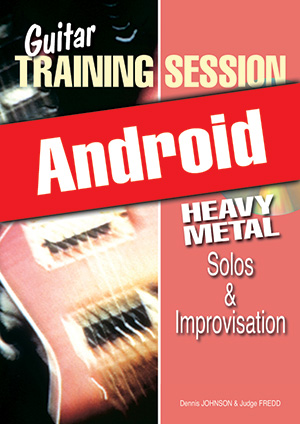 Guitar Training Session - Heavy Metal Solos & Improvisation (Android)