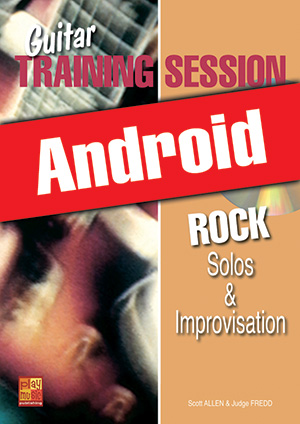 Guitar Training Session - Rock Solos & Improvisation (Android)