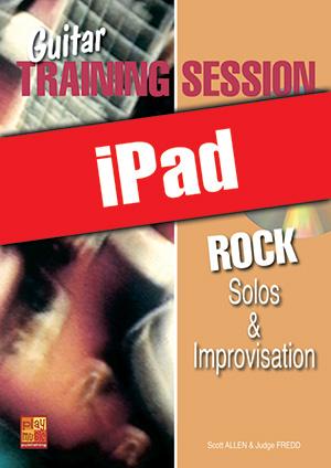 Guitar Training Session - Rock Solos & Improvisation (iPad)