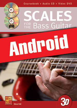 Scales for the Bass Guitar in 3D (Android)