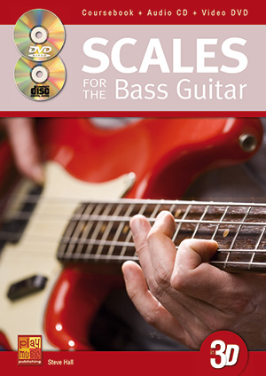 Scales for the Bass Guitar in 3D