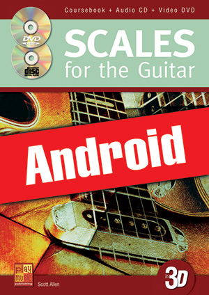 Scales for the Guitar in 3D (Android)
