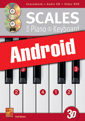 Scales for Piano & Keyboard in 3D (Android)